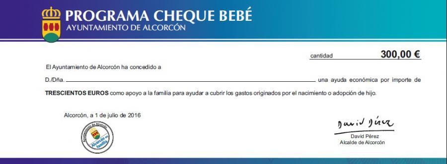 Los vecinos beneficiarios del Cheque Bebé ya han comenzado a canjear estas ayudas en los establecimientos adheridos #Alcorcón