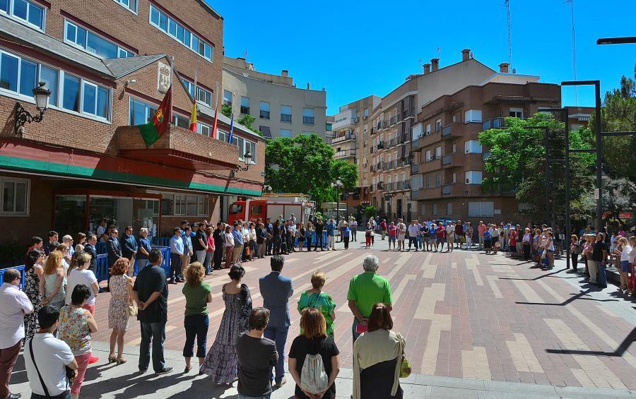 #Alcorcón guarda 5 minutos de silencio por las víctimas del atentado de Niza