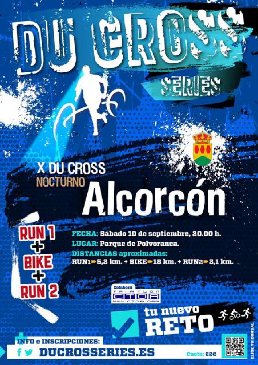 #Alcorcón celebra el 10 de septiembre el ya tradicional duatlón nocturno
