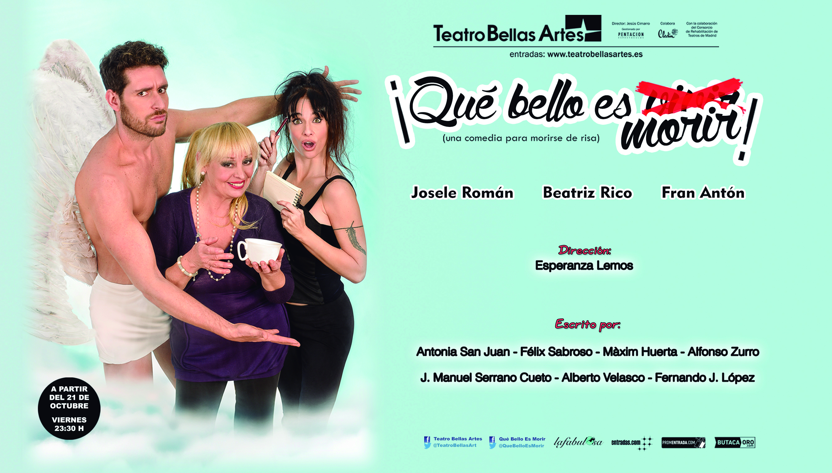 Teatro Que bello es morir 17-10-2016
