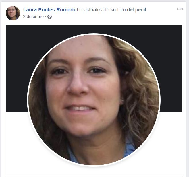 Captura Laura Pontes Facebook