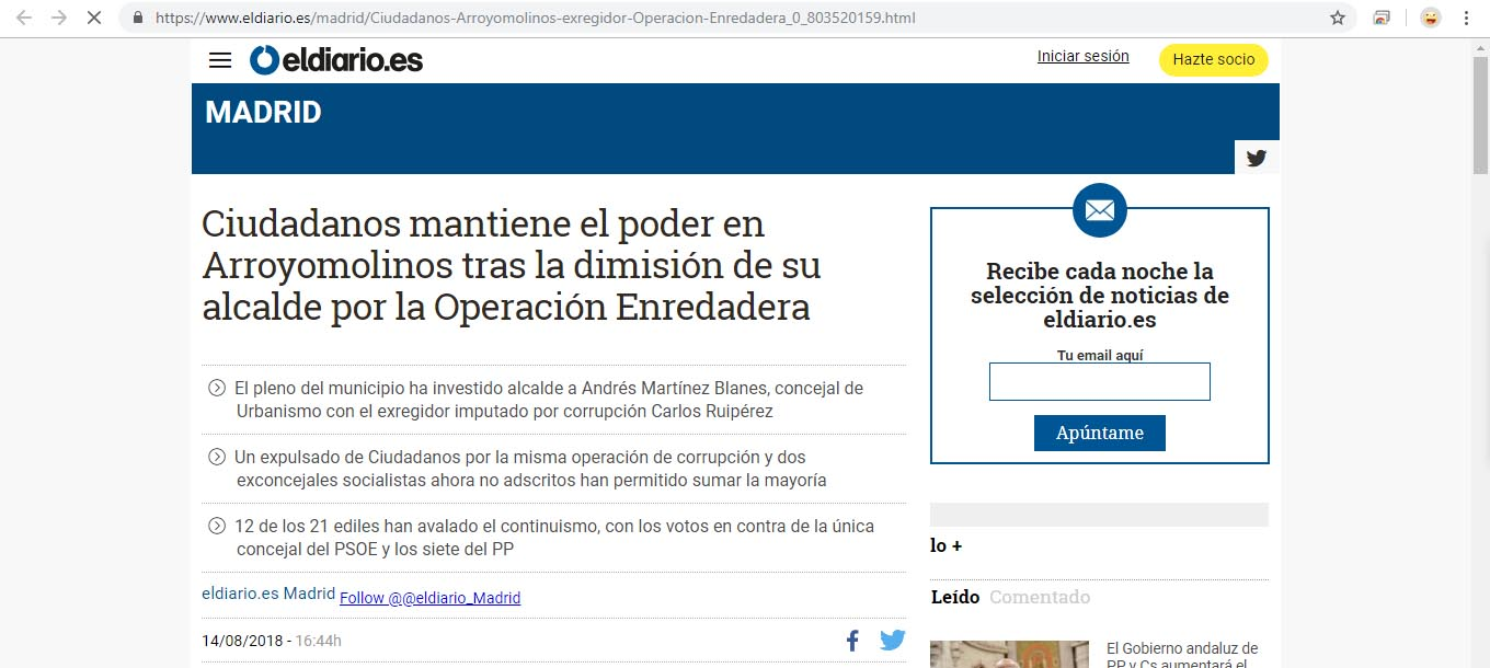 Captura web el diario_es