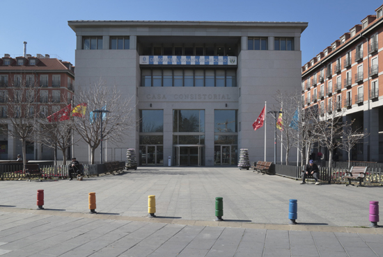 Texto Alternativo: Medidas adicionales de protección y prevención frente al Coronavirus / COVID -19 lesiones por el Ayuntamiento de Leganés
