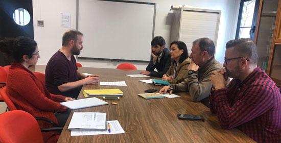 Texto Alternativo: Concejales de Sostenibilidad y Movilidad de Leganés, Fuenlabrada, Getafe y Alcorcón acuerdan seguir reclamando mejoras para los municipios del sur