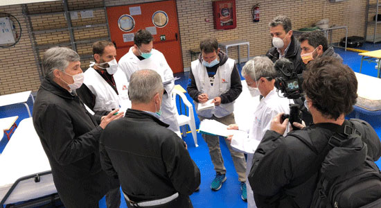 Texto Alternativo: El Ayuntamiento de Leganés aprueba una partida de 300.000 euros para hacer frente a las primeras necesidades de emergencia