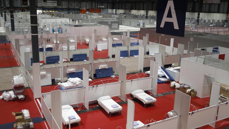 Texto Alternativo: Abrimos el pabellón 7 del hospital temporal instalado en IFEMA