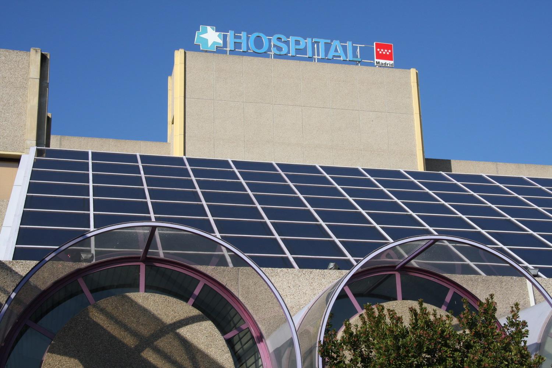 Texto Alternativo: Getafe instalará dos carpas de 200 metros cuadrados en el Hospital