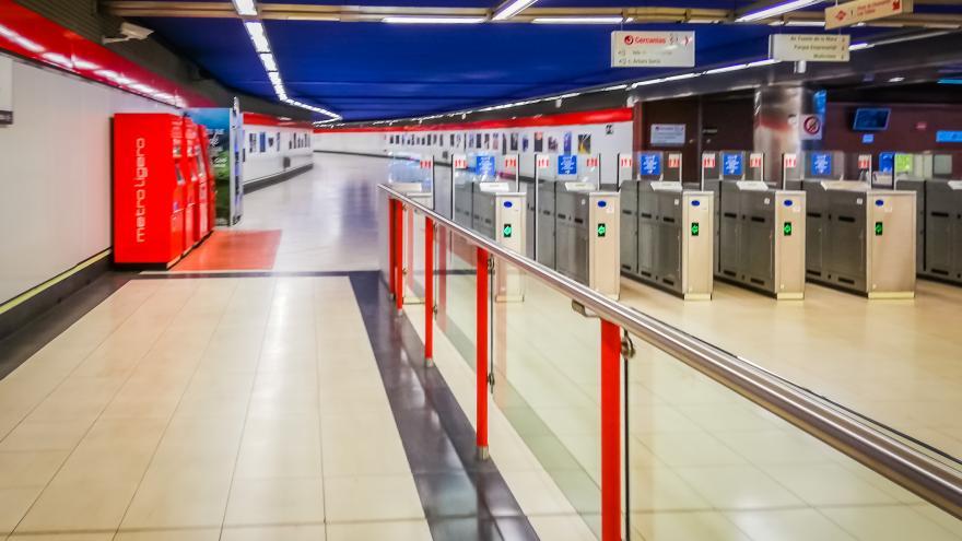 Texto Alternativo: La demanda de transporte público en la Comunidad de Madrid alcanza mínimos y se estabiliza