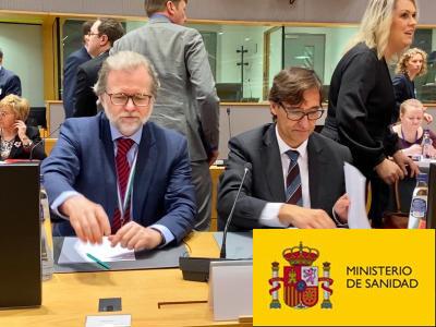 Texto Alternativo: El Ministerio de Sanidad Informa: El Gobierno aprueba el reparto de 300 millones de euros a las CCAA para dar respuesta a las acciones más urgentes contra el COVID-19
