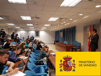 Texto Alternativo: El Ministerio de Sanidad Informa: El Gobierno distribuye 9,6 millones de mascarillas a petición de las CCAA