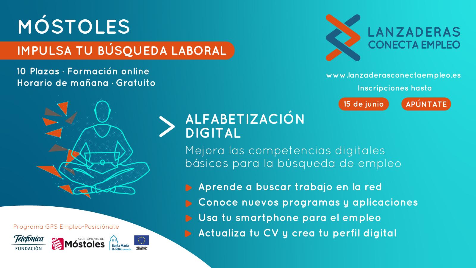 """Texto Alternativo: El Gobierno de Móstoles pondrá en marcha en junio el programa de """"Alfabetización Digital"""""""