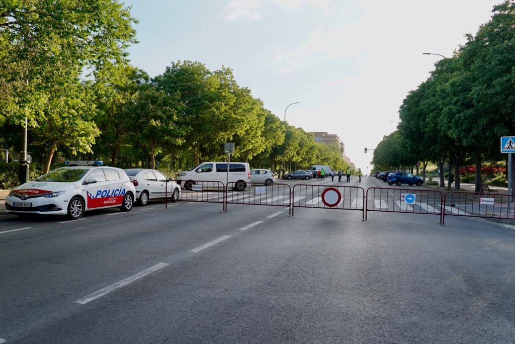 Texto Alternativo: El Gobierno Local reabre al tráfico las zonas peatonalizadas excepcionalmente por el Estado de Alarma