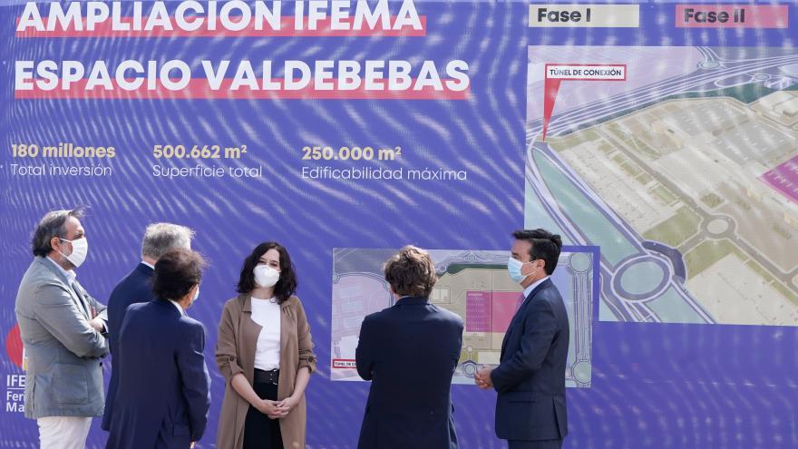 Texto Alternativo: Díaz Ayuso anuncia que el Hospital de Emergencias de la Comunidad de Madrid estará en Valdebebas