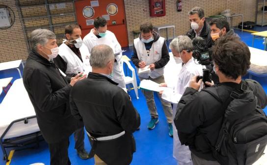 Texto Alternativo: El alcalde solicita que las autoridades sanitarias emprendan estudios epidemiológicos y de seroprevalencia en Leganés para conocer la incidencia de la Covid-19 en la ciudad