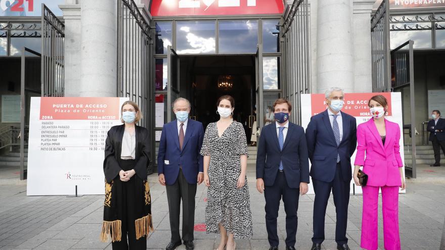 """Texto Alternativo: Díaz Ayuso: """"Madrid se reactiva y lo hace de la mano de la cultura"""""""