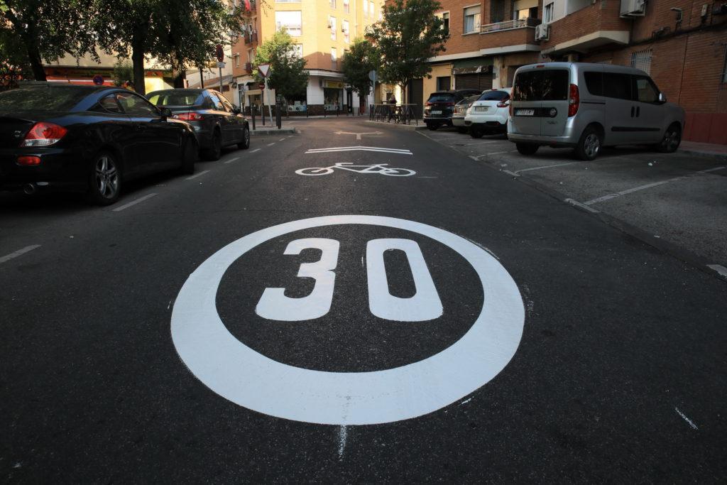 Texto Alternativo: Getafe se une a las ciudades con límite de velocidad de 30 km/h para áreas residenciales