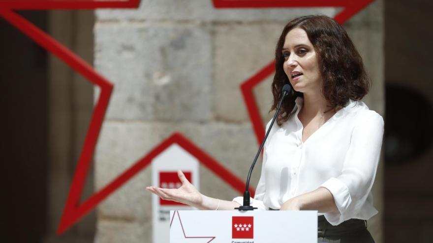 Texto Alternativo: Díaz Ayuso anuncia la inversión de 30 M en un ente público privado para promocionar el turismo