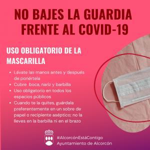 Texto Alternativo: Alcorcón impulsa un Plan de Contingencia Municipal para prevenir la transmisión de COVID-19 en la población