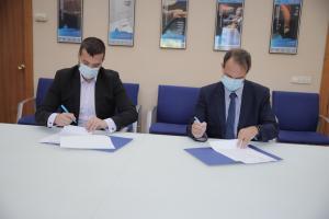 Texto Alternativo: ESMASA y la Universidad Politécnica de Madrid firman un convenio de colaboración e impulsarán un Polo Tecnológico y el compostaje en Alcorcón