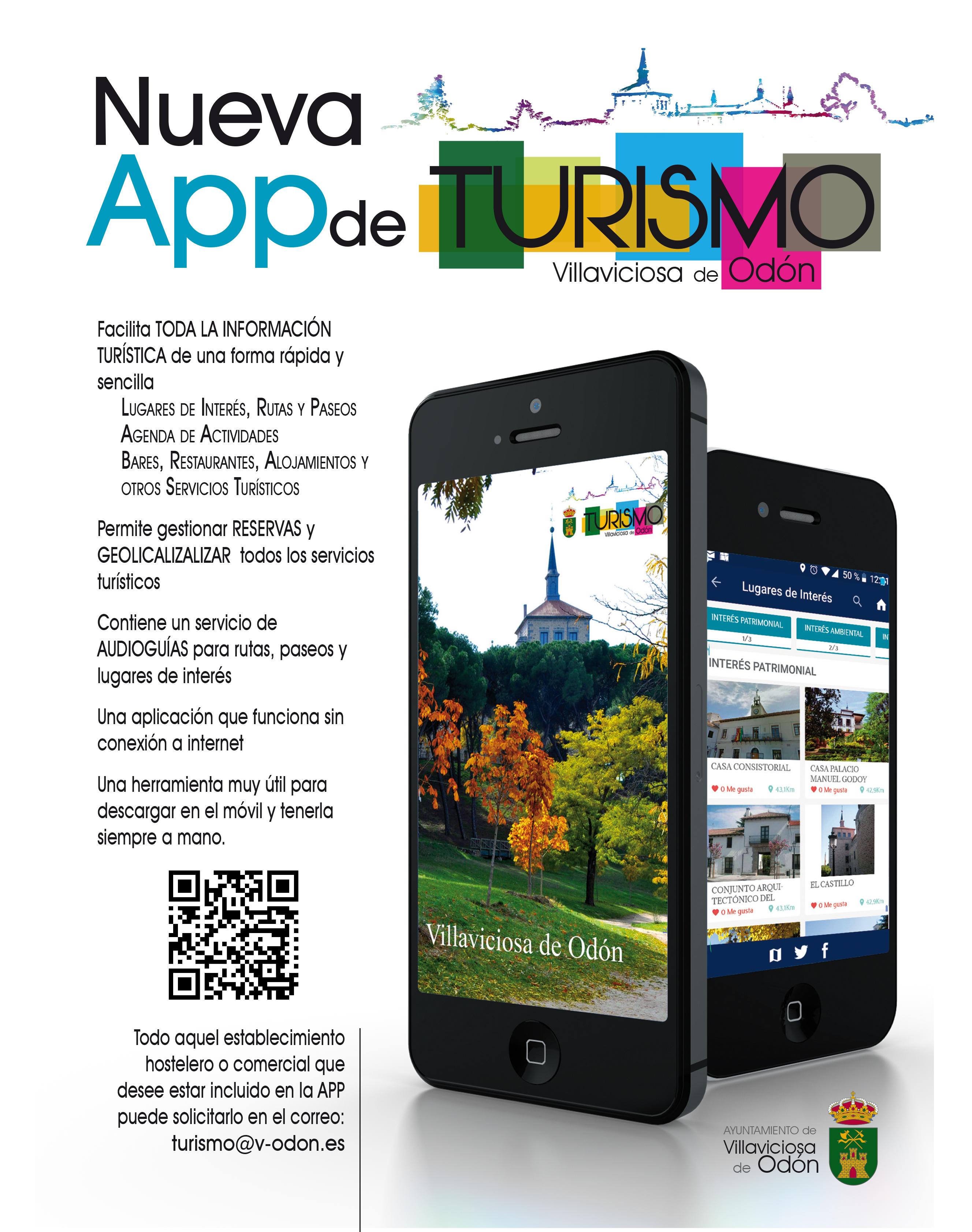 Texto Alternativo: El Ayuntamiento lanza una aplicación para ofrecer información turística de la localidad