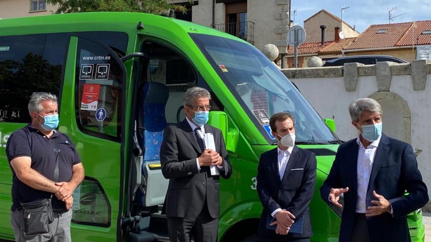 Texto Alternativo: La Comunidad de Madrid propone en marcha la primera línea interurbana de autobús a demanda