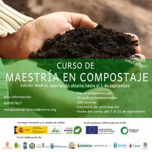 Texto Alternativo: Personas desempleadas en Alcorcón podrán participar en un curso de Maestría en Compostaje