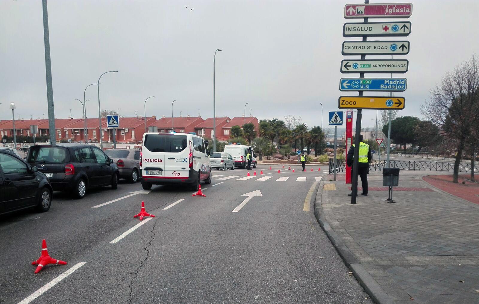 Texto Alternativo: Móstoles encabeza la lista de ciudades españolas con menos fallecidos en accidentes de tráfico en el casco urbano