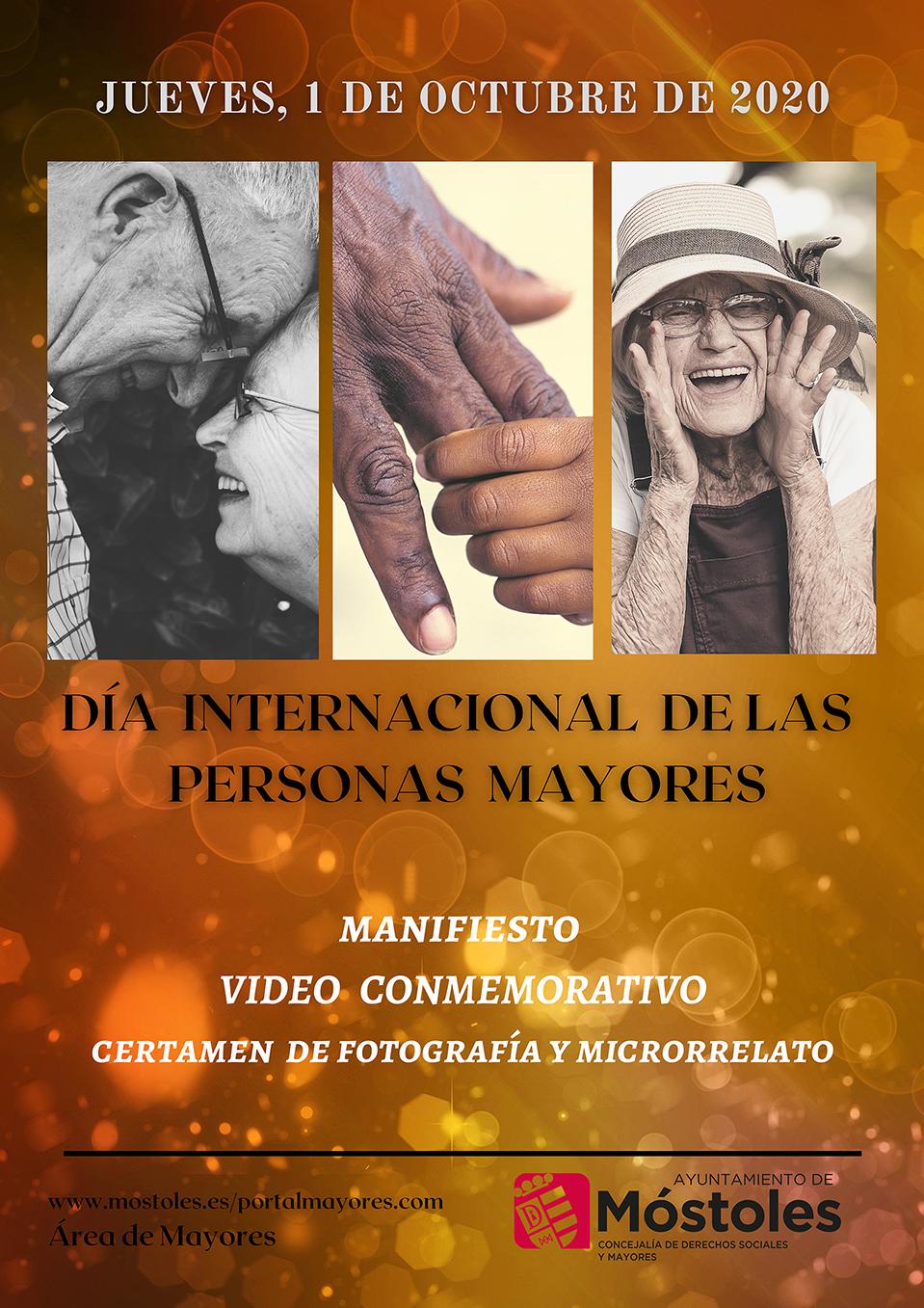 Texto Alternativo: Móstoles convoca un concurso de microrrelatos y otro de fotografía por el Día Internacional de las Personas Mayores
