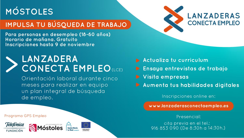 Texto Alternativo: Móstoles pondrá en marcha una nueva Lanzadera de Empleo destinada a ayudar y guiar a las personas desempleadas en su búsqueda de trabajo