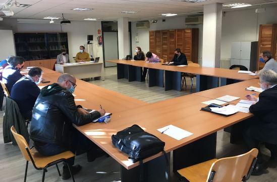 Texto Alternativo: El Gobierno local presenta el borrador de Presupuesto al Consejo Económico y Social de Leganés