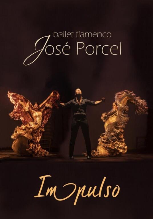 Texto Alternativo: Sábado, 14 de noviembre – Ballet Flamenco: José Porcel 'Impulso'