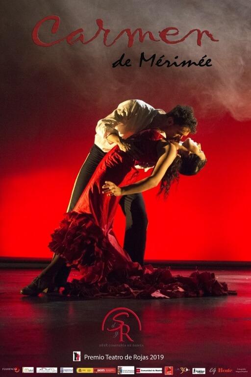 Texto Alternativo: Sábado, 28 de noviembre – Danza española: Carmen de Mérimée