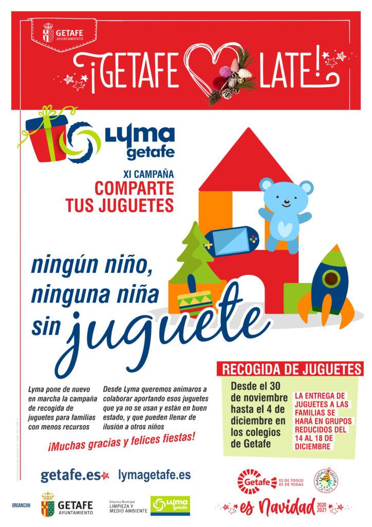 Texto Alternativo: LYMA anima a participar en la campaña 'Ningún niño sin juguete'