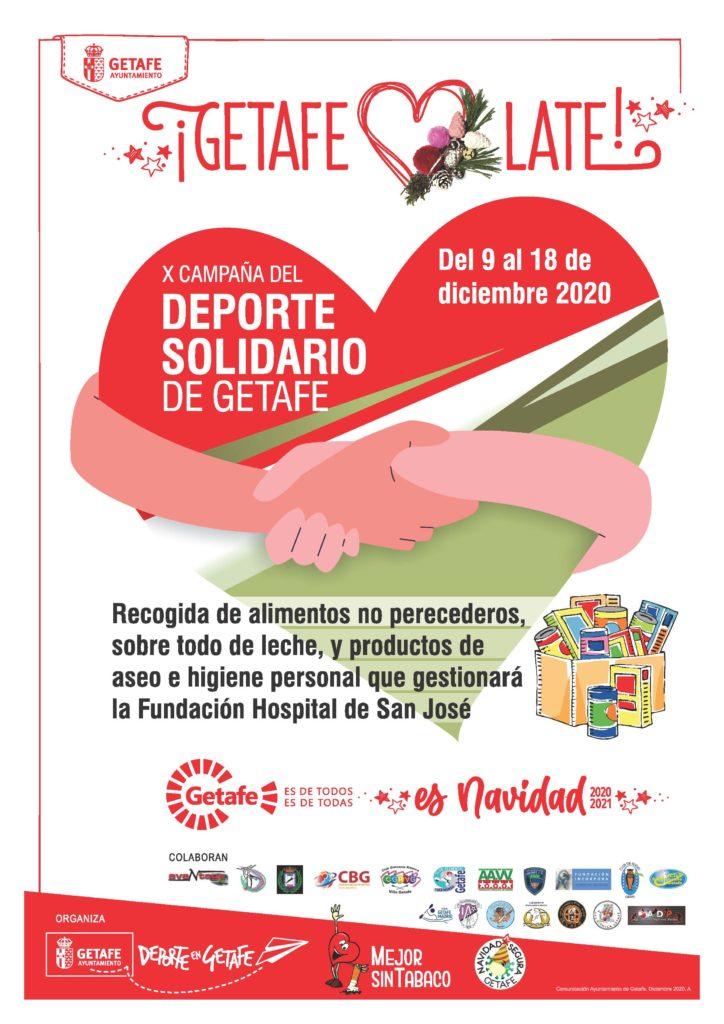 Texto Alternativo: El Ayuntamiento de Getafe pone en marcha la X Campaña del Deporte Solidario de Getafe