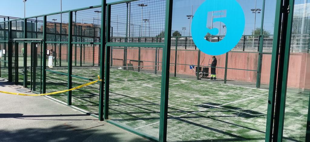Texto Alternativo: Getafe continúa con su plan de mejora de instalaciones deportivas municipales