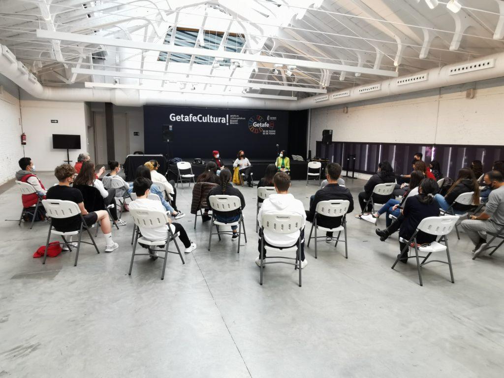 Texto Alternativo: El INJUVE elige dos programas de Getafe como ejemplo de buenas prácticas de trabajo con jóvenes