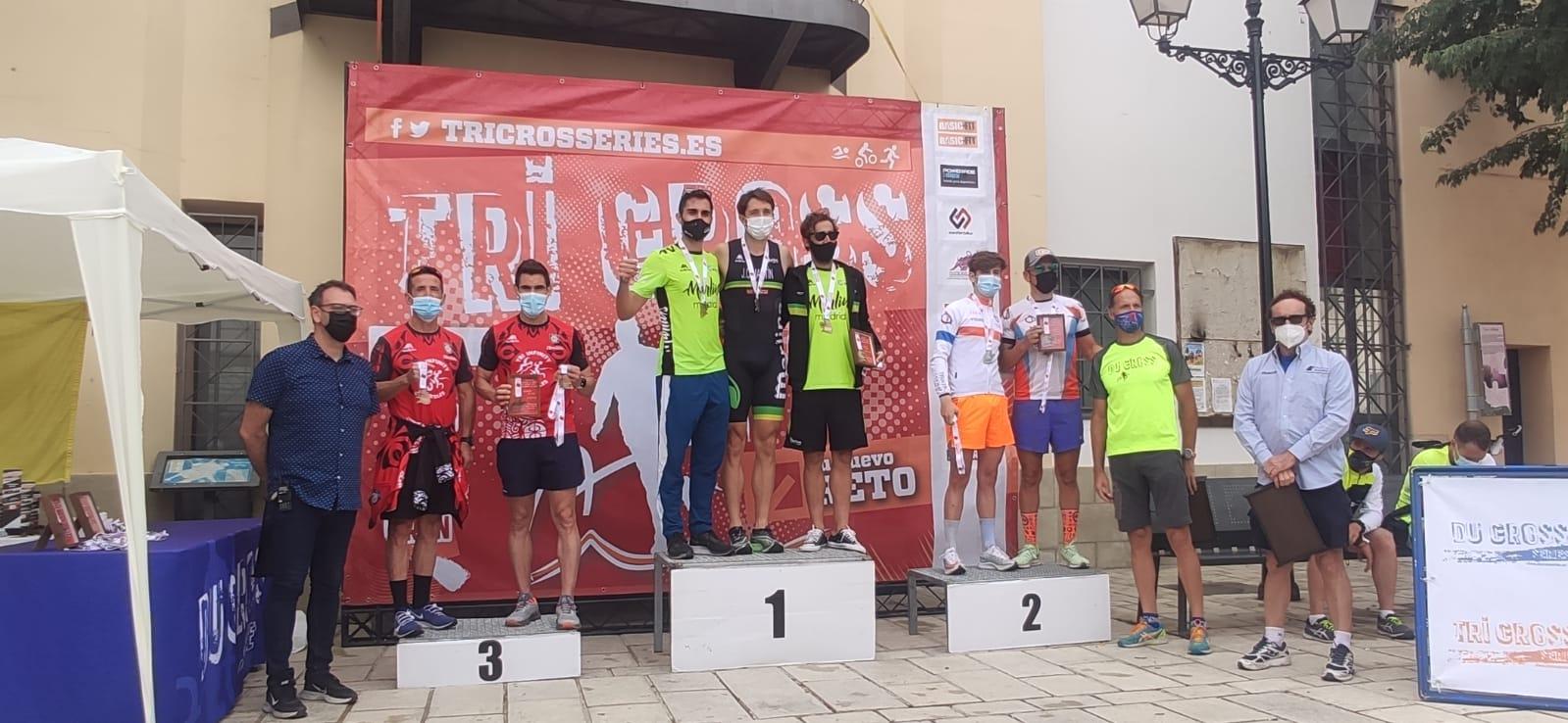 Texto Alternativo: Tercer puesto del Tri Infinity Móstoles en el Campeonato de Madrid de Triatlón Cross